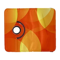 Abstract Orange Yellow Red Color Galaxy S3 (flip/folio)