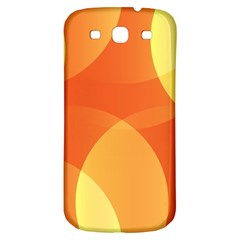 Abstract Orange Yellow Red Color Samsung Galaxy S3 S Iii Classic Hardshell Back Case