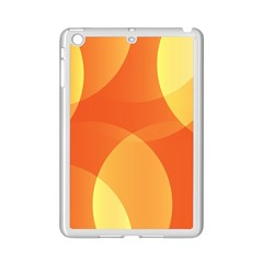 Abstract Orange Yellow Red Color iPad Mini 2 Enamel Coated Cases
