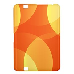 Abstract Orange Yellow Red Color Kindle Fire Hd 8 9