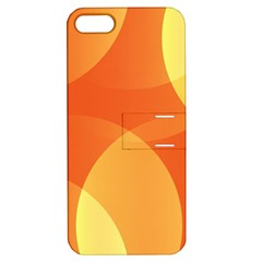 Abstract Orange Yellow Red Color Apple Iphone 5 Hardshell Case With Stand