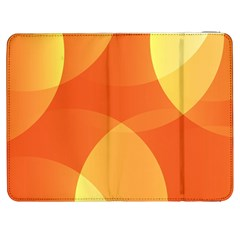 Abstract Orange Yellow Red Color Samsung Galaxy Tab 7  P1000 Flip Case
