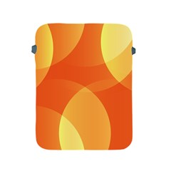 Abstract Orange Yellow Red Color Apple Ipad 2/3/4 Protective Soft Cases