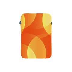 Abstract Orange Yellow Red Color Apple Ipad Mini Protective Soft Cases
