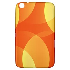 Abstract Orange Yellow Red Color Samsung Galaxy Tab 3 (8 ) T3100 Hardshell Case