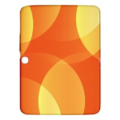 Abstract Orange Yellow Red Color Samsung Galaxy Tab 3 (10 1 ) P5200 Hardshell Case