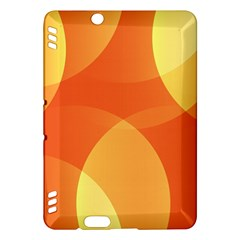 Abstract Orange Yellow Red Color Kindle Fire Hdx Hardshell Case