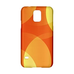 Abstract Orange Yellow Red Color Samsung Galaxy S5 Hardshell Case
