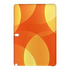 Abstract Orange Yellow Red Color Samsung Galaxy Tab Pro 12.2 Hardshell Case
