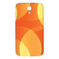 Abstract Orange Yellow Red Color Samsung Galaxy Mega I9200 Hardshell Back Case