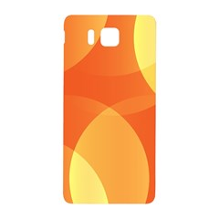 Abstract Orange Yellow Red Color Samsung Galaxy Alpha Hardshell Back Case
