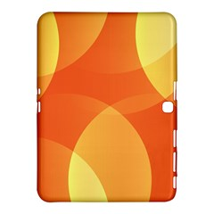 Abstract Orange Yellow Red Color Samsung Galaxy Tab 4 (10 1 ) Hardshell Case