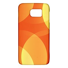 Abstract Orange Yellow Red Color Galaxy S6