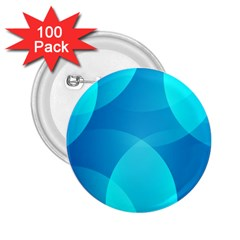 Abstract Blue Wallpaper Wave 2 25  Buttons (100 Pack)