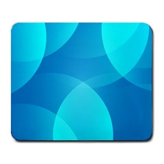 Abstract Blue Wallpaper Wave Large Mousepads