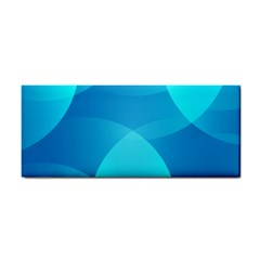 Abstract Blue Wallpaper Wave Cosmetic Storage Cases