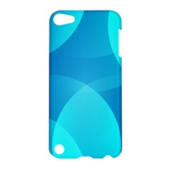 Abstract Blue Wallpaper Wave Apple Ipod Touch 5 Hardshell Case