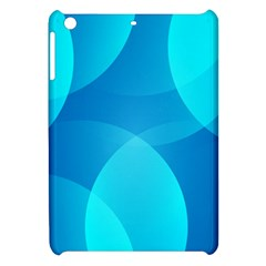 Abstract Blue Wallpaper Wave Apple iPad Mini Hardshell Case
