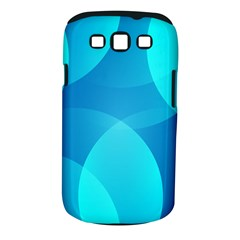 Abstract Blue Wallpaper Wave Samsung Galaxy S Iii Classic Hardshell Case (pc+silicone)