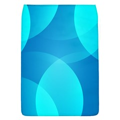 Abstract Blue Wallpaper Wave Flap Covers (s)