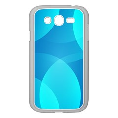 Abstract Blue Wallpaper Wave Samsung Galaxy Grand Duos I9082 Case (white)