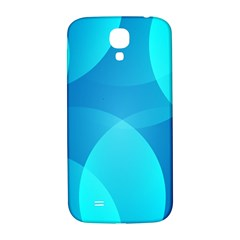 Abstract Blue Wallpaper Wave Samsung Galaxy S4 I9500/i9505  Hardshell Back Case