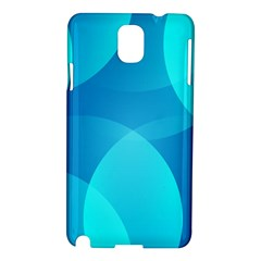 Abstract Blue Wallpaper Wave Samsung Galaxy Note 3 N9005 Hardshell Case