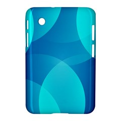 Abstract Blue Wallpaper Wave Samsung Galaxy Tab 2 (7 ) P3100 Hardshell Case