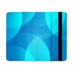 Abstract Blue Wallpaper Wave Samsung Galaxy Tab Pro 8 4  Flip Case