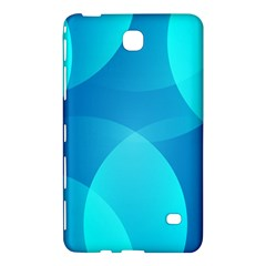 Abstract Blue Wallpaper Wave Samsung Galaxy Tab 4 (8 ) Hardshell Case