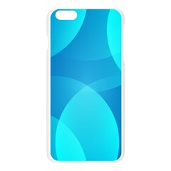 Abstract Blue Wallpaper Wave Apple Seamless iPhone 6 Plus/6S Plus Case (Transparent)