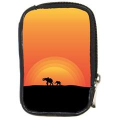 Elephant Baby Elephant Wildlife Compact Camera Cases
