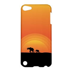 Elephant Baby Elephant Wildlife Apple Ipod Touch 5 Hardshell Case