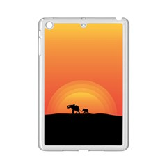 Elephant Baby Elephant Wildlife Ipad Mini 2 Enamel Coated Cases