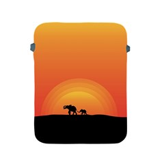 Elephant Baby Elephant Wildlife Apple Ipad 2/3/4 Protective Soft Cases