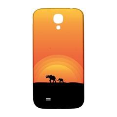 Elephant Baby Elephant Wildlife Samsung Galaxy S4 I9500/i9505  Hardshell Back Case