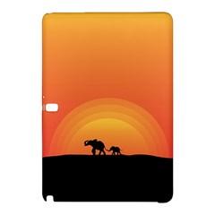 Elephant Baby Elephant Wildlife Samsung Galaxy Tab Pro 10 1 Hardshell Case