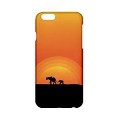 Elephant Baby Elephant Wildlife Apple iPhone 6/6S Hardshell Case