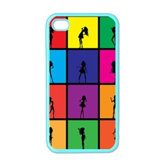 Girls Fashion Fashion Girl Young Apple iPhone 4 Case (Color)
