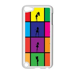 Girls Fashion Fashion Girl Young Apple Ipod Touch 5 Case (white)