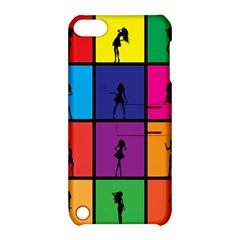 Girls Fashion Fashion Girl Young Apple Ipod Touch 5 Hardshell Case With Stand