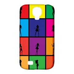 Girls Fashion Fashion Girl Young Samsung Galaxy S4 Classic Hardshell Case (pc+silicone)