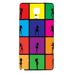 Girls Fashion Fashion Girl Young Galaxy Note 4 Back Case