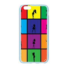 Girls Fashion Fashion Girl Young Apple Seamless iPhone 6/6S Case (Color)