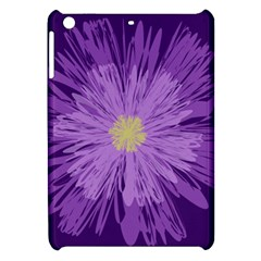 Purple Flower Floral Purple Flowers Apple Ipad Mini Hardshell Case