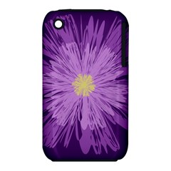 Purple Flower Floral Purple Flowers Iphone 3s/3gs