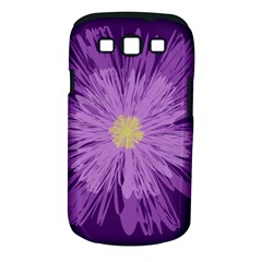 Purple Flower Floral Purple Flowers Samsung Galaxy S Iii Classic Hardshell Case (pc+silicone)