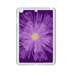 Purple Flower Floral Purple Flowers iPad Mini 2 Enamel Coated Cases