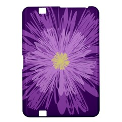 Purple Flower Floral Purple Flowers Kindle Fire Hd 8 9