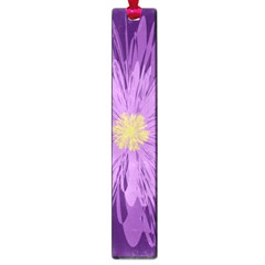 Purple Flower Floral Purple Flowers Large Book Marks